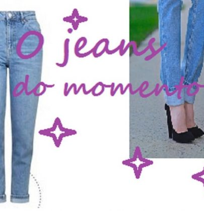 Mommy: a calça jeans do momento.