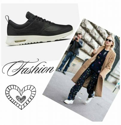 Moda : tênis e sofisticação .