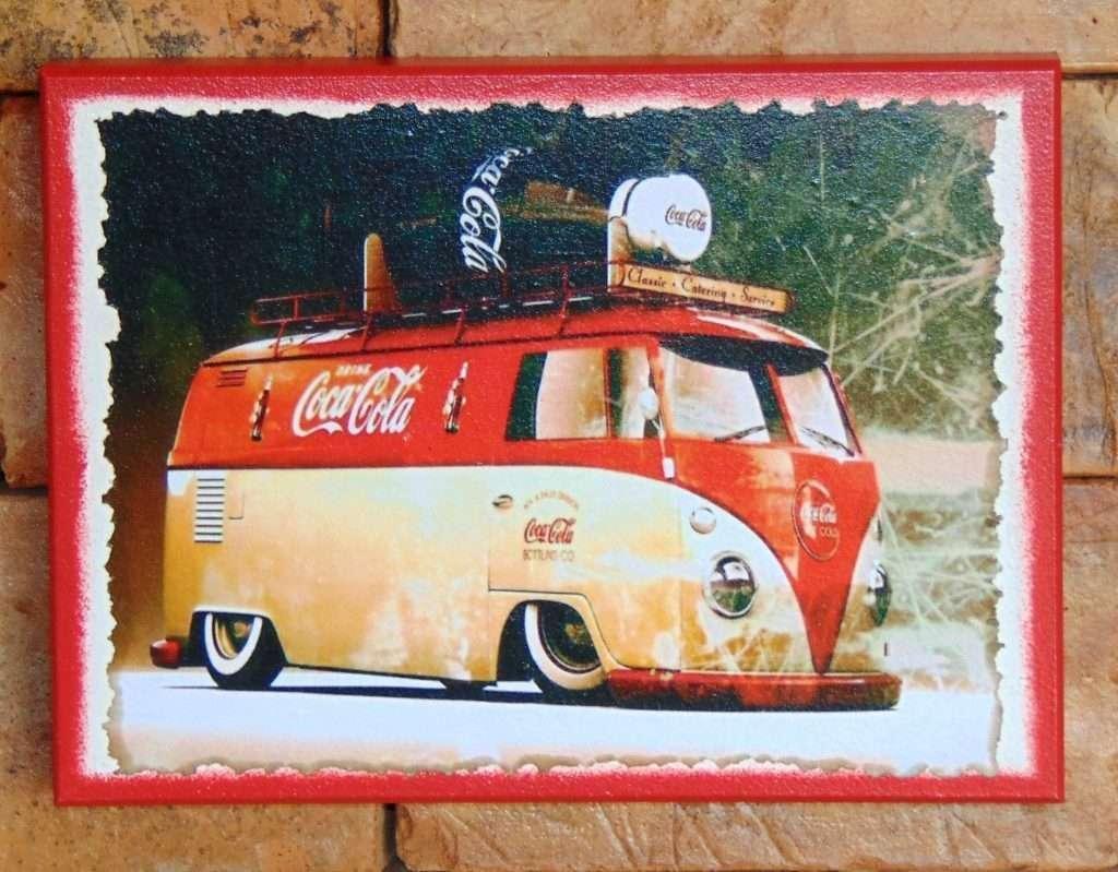 quadro-vintage-kombi-coca-coca