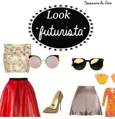 Look futurista .