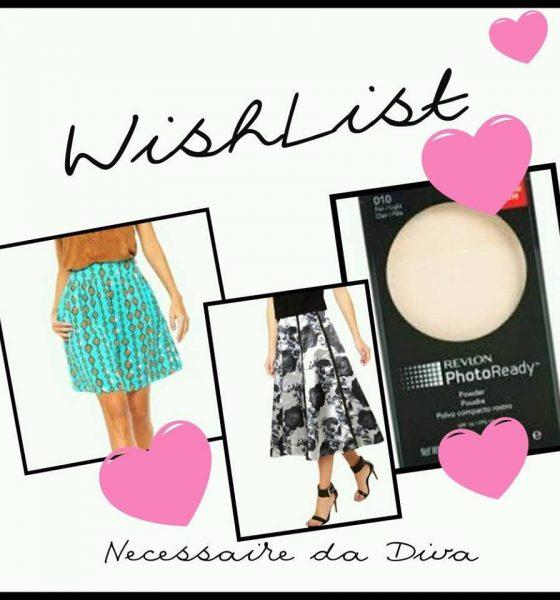 WishList a lista de desejos do blog – 23 de outubro/16.