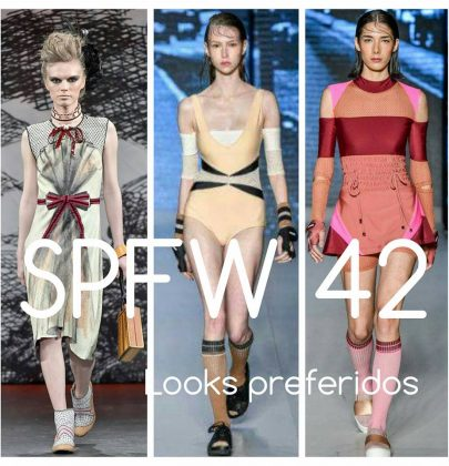 Looks preferidos do SPFW 42.