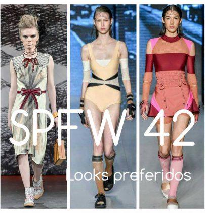 Looks preferidos do SPFW 42.