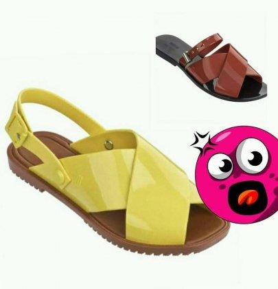 Por calçados mais femininos.