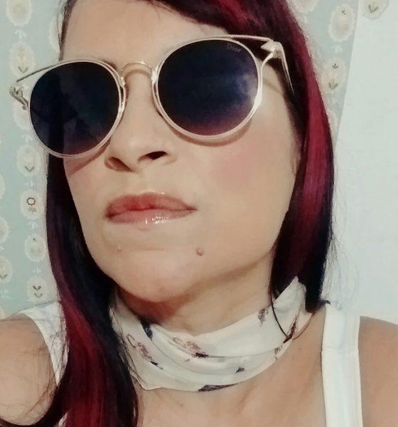 Novos óculos de sol & selfies.