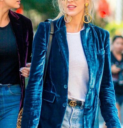 Veludo na moda 2017: os melhores looks.