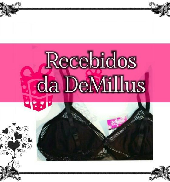 Lingerie linda e sexy: recebidos da DeMillus.