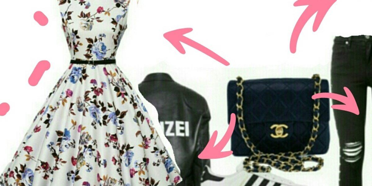 A mesma bolsa e looks diferentes.