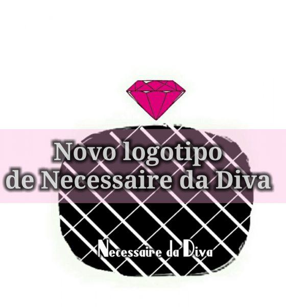 Necessaire da Diva está com o seu novo logotipo.