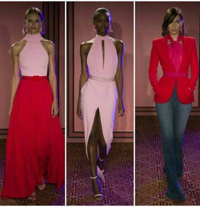 Rosa e vermelho: a nova tendência da moda.