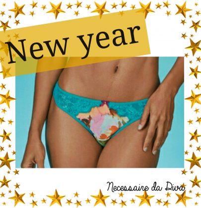 Sugestão de calcinhas para o Ano novo.