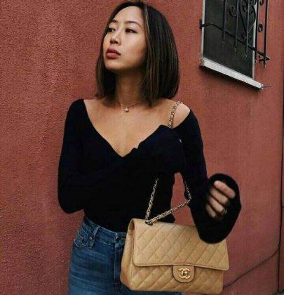 O estilo de Aimee Song.