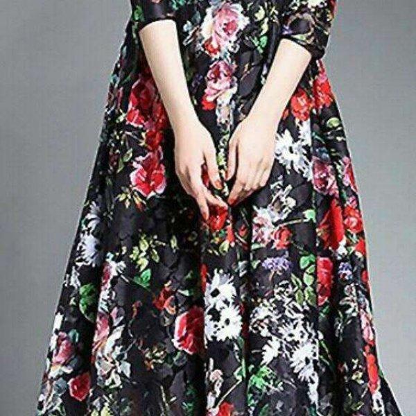 Dark floral: veja essa super tendência da moda.