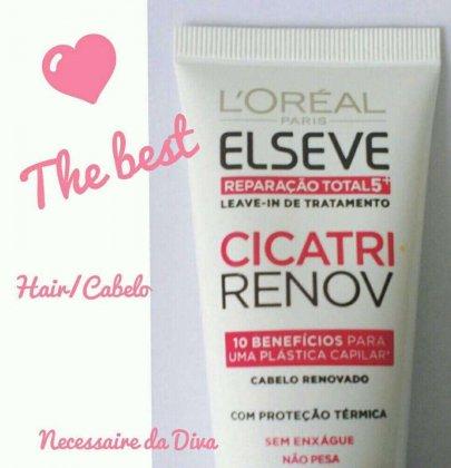 O melhor para o seu cabelo com Cicatri Renov Elseve.