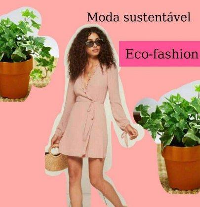 Duas marcas poderosas de moda sustentável.