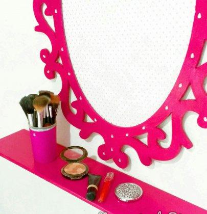 Decoração rosa: como eu fiz.