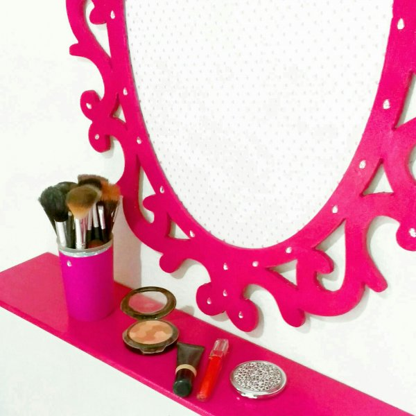 pink decoration: as I did.