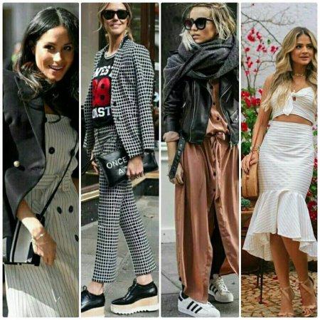 Looks de moda mais pinados de 2018.