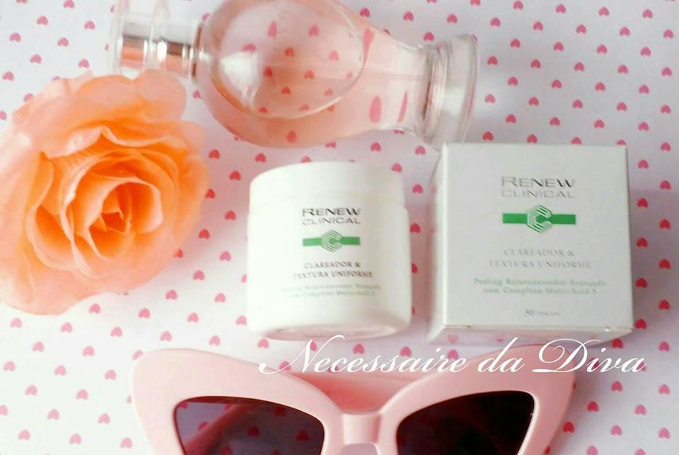 renew clinical peeling facial resenha