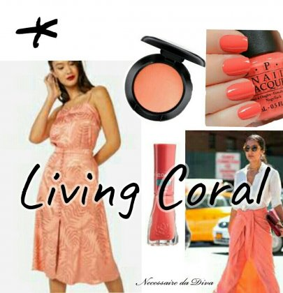 Todo o poder do living coral.