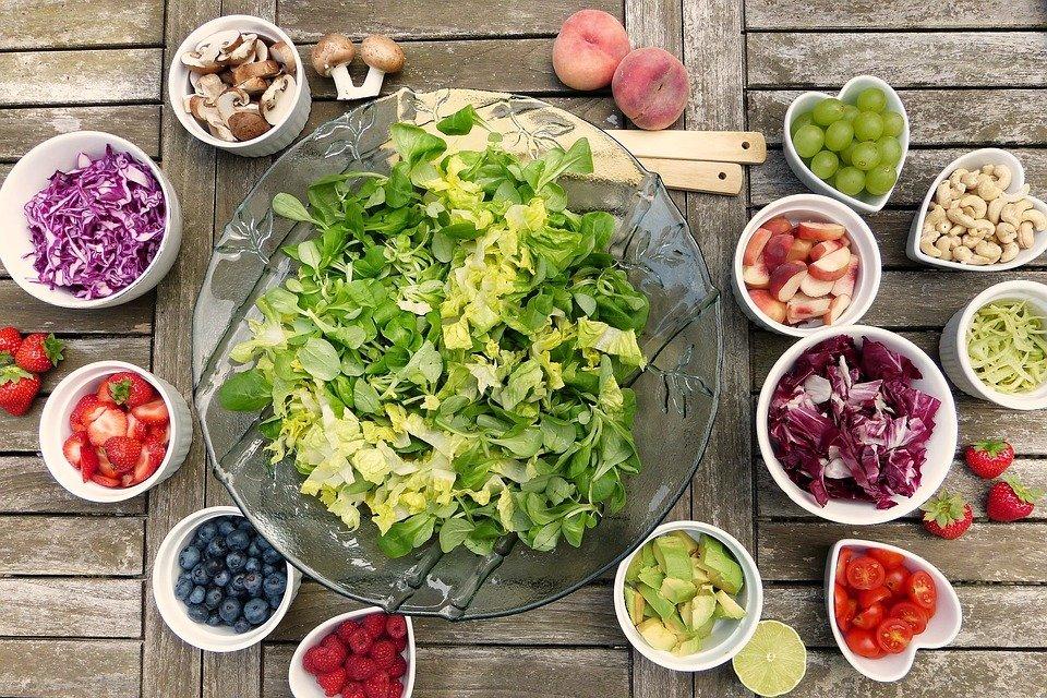 saladas fáceis e chiques