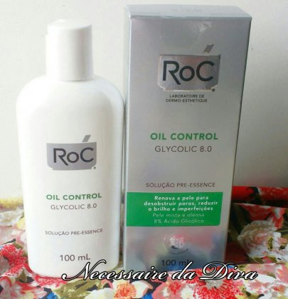Vlog: release of the video Roc Glycolic 8.0 review.