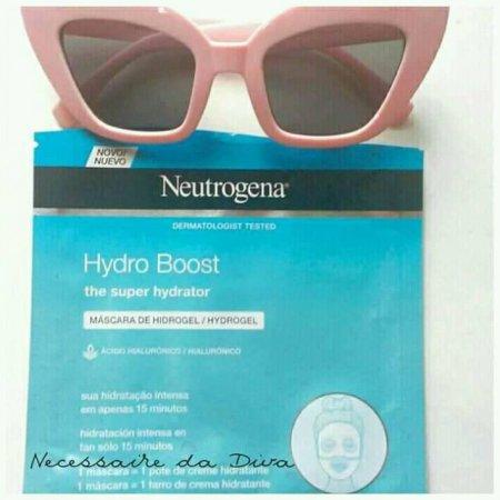Máscara Neutrogena Hydro Boost resenha.