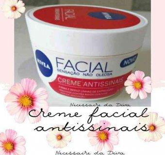 Tudo sobre o Creme facial Nivea antissinais-resenha.