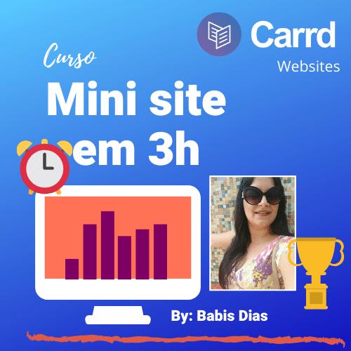 mini site em 3h
