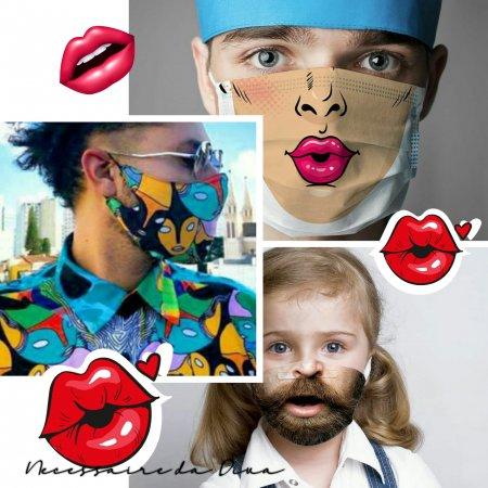 Máscaras e arte: conheça as sugestões criativas e divertidas para o COVID-19.
