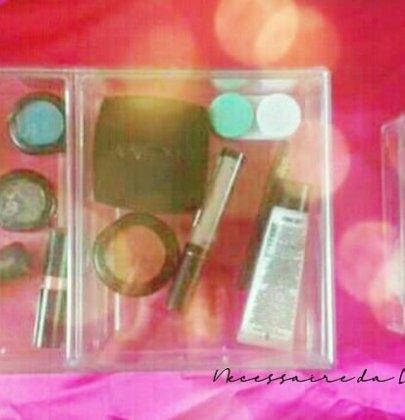 Como organizar minha maquiagem.