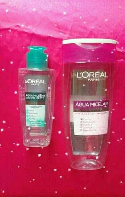 água micelar loreal