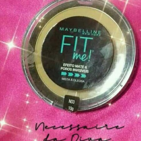 Pó compacto Fit me! Maybelline-Resenha.