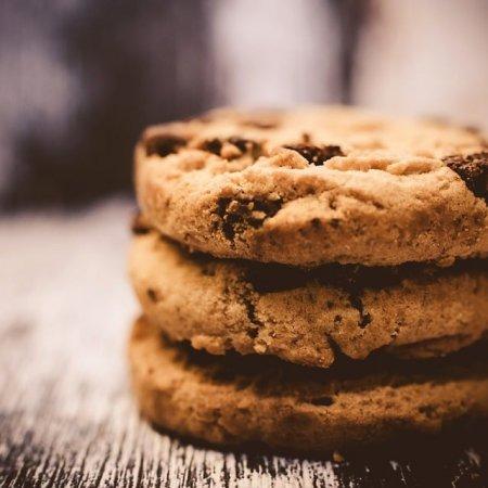 Receita de Cookies de chocolate.