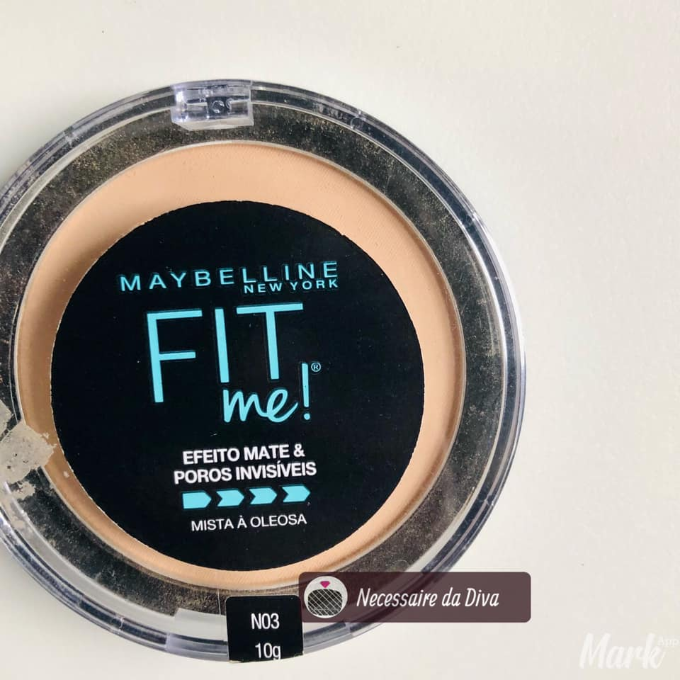 pó compacto fit me maybelline resenha