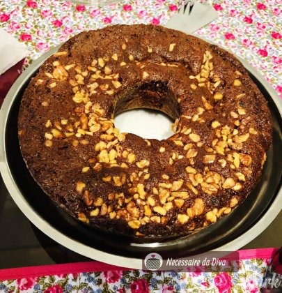 Receita de bolo integral maravilhoso.