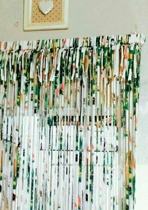 cortina para porta