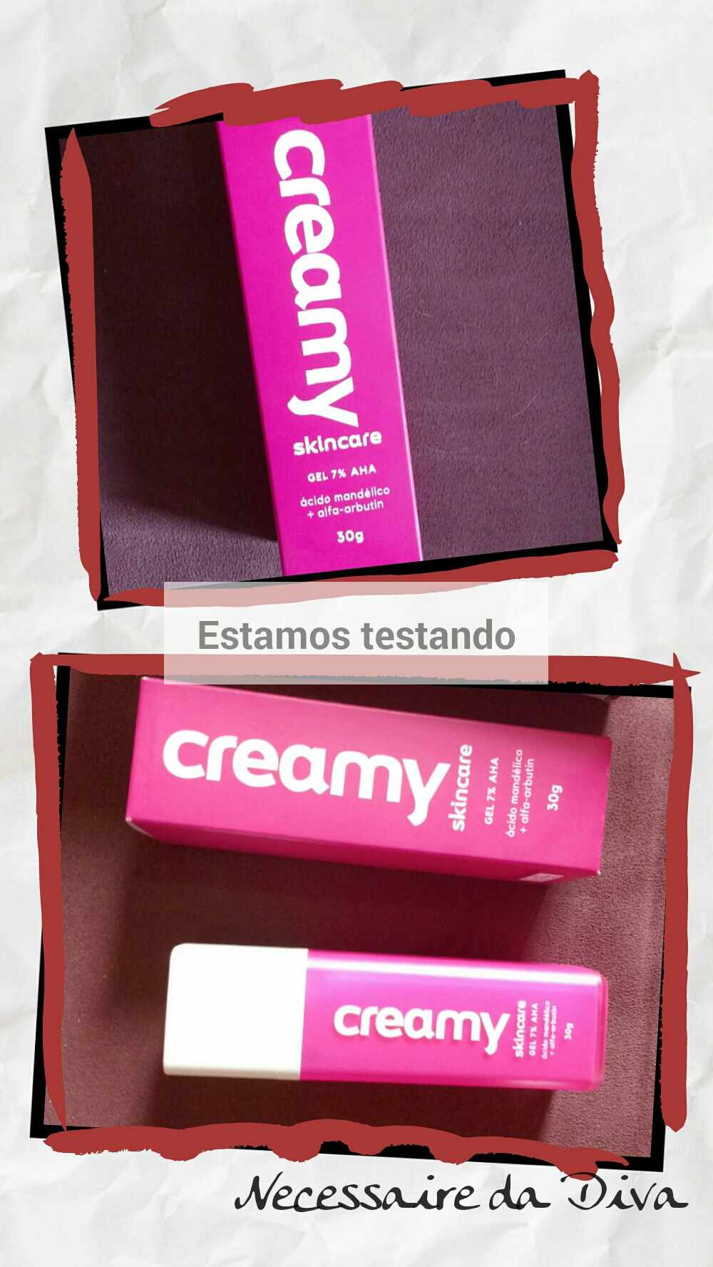 creamy rosa