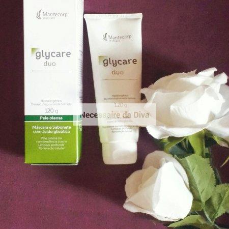 Sabonete e máscara facial da Glycare duo-como usar.