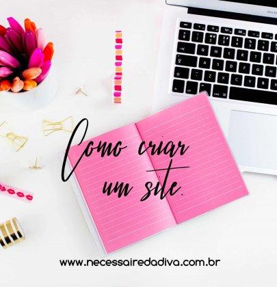 Como criar um site.