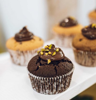 Receita de cupcake simples.