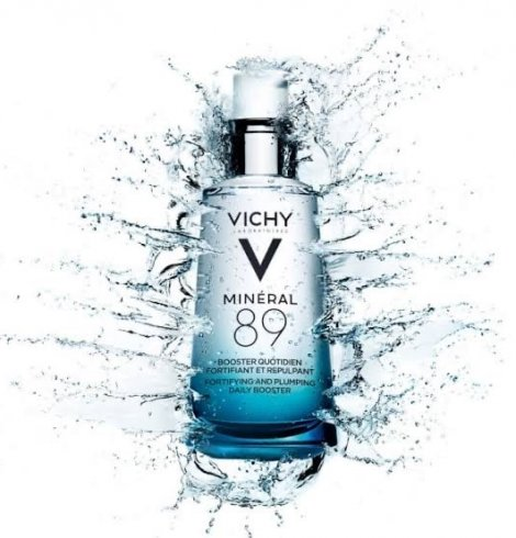 O hidratante facial perfeito para reforçar as barreiras da pele: Mineral 89 Vichy.