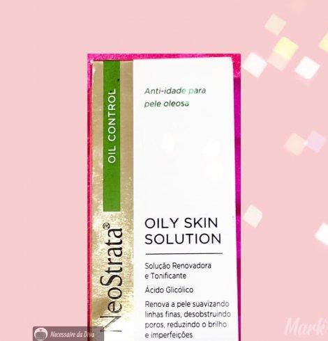 Produto para peles oleosas e com função anti-idade: conheça o Neostrata Oily Skin Solution.